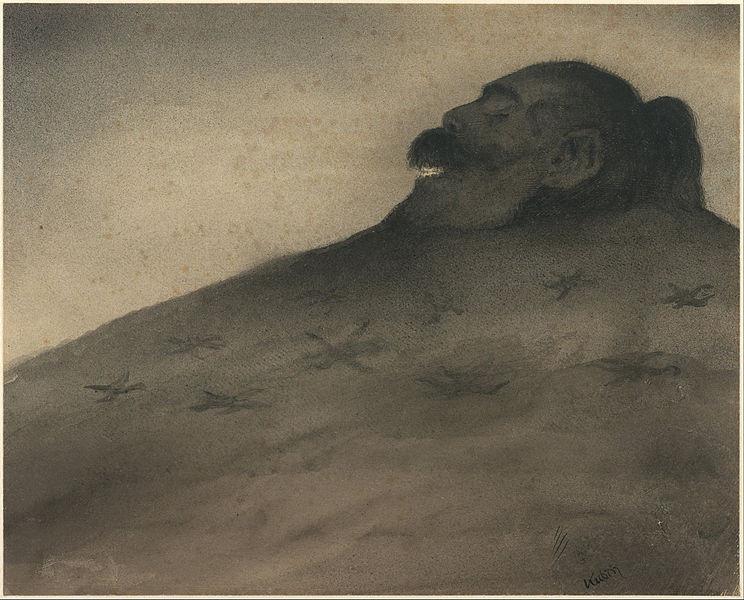 Alfred Kubin, Dolmen (1900 - 1902)