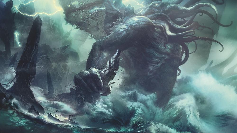 """""""Call of Cthulhu"""", ilustração de Baranger"""