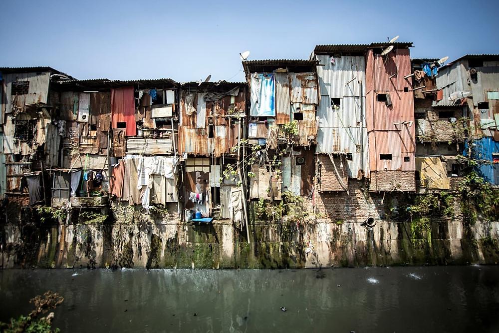 favela dharavi na india