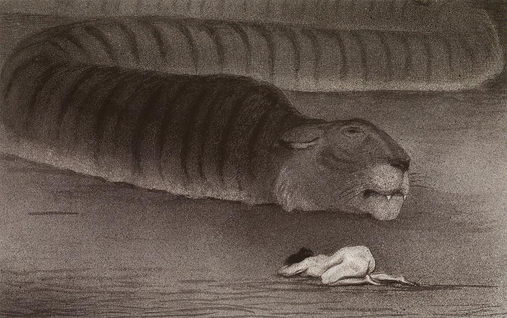 Alfred Kubin, Die Grosse Boa (1903)
