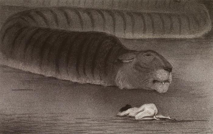 A Arte Fantasmagórica de Alfred Kubin