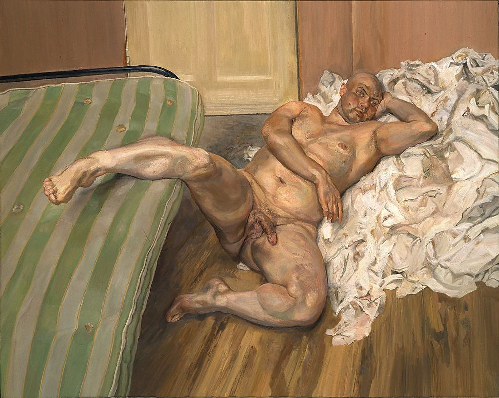 Lucian Freud - Nude With a Leg Up