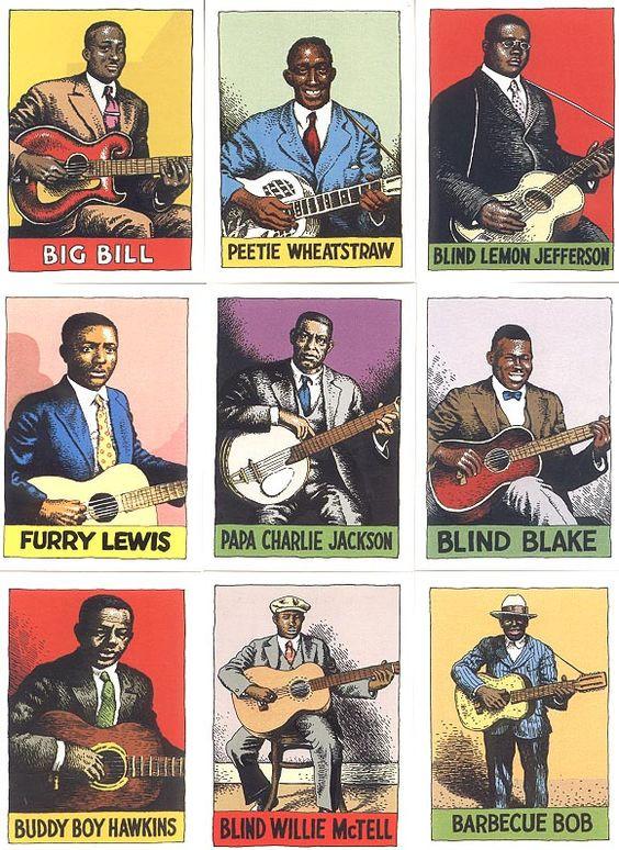 Robert Crumb - Heroes of the Blues