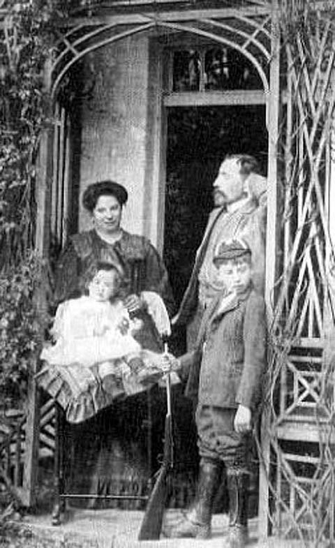 Joseph Conrad e família
