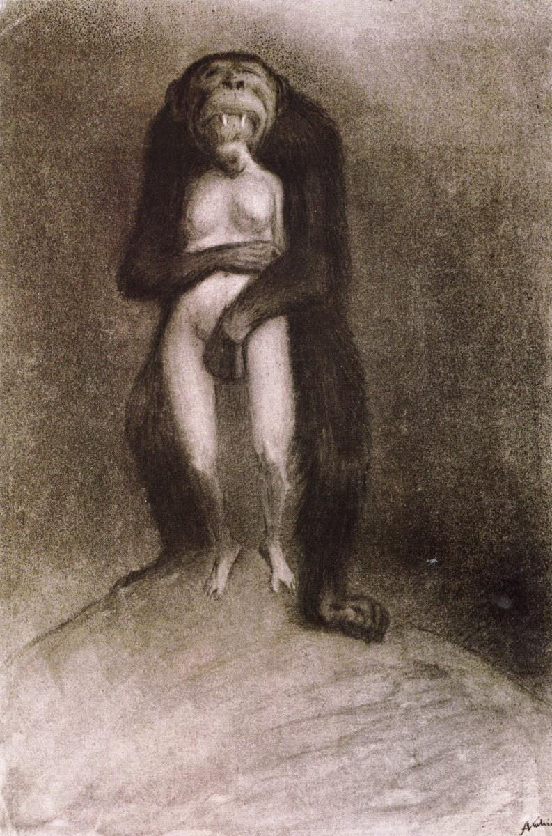 Alfred Kubin - The Ape