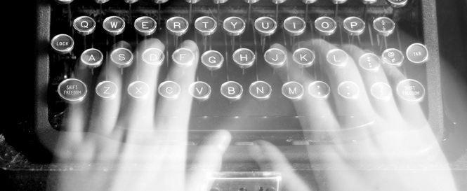 """Ghost Writer – Ainda é possível em um mundo ligado ao """"Ser""""?"""
