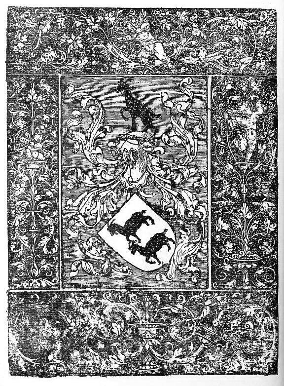 ilustração de livro antigo. desenho de cabras