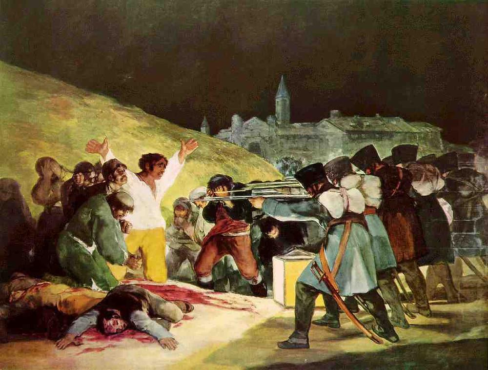 El tercero de Mayo de 1808