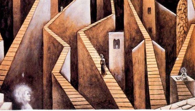 Xul Solar - Muros y Escaleras