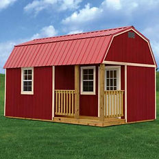 Side Lofted Barn Cabin Painted.jpg