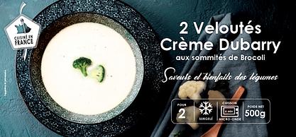 Velouté crème Dubarry aux sommités de brocoli