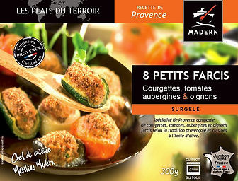 Petits farcis courgettes tomates aubergines oignons provence