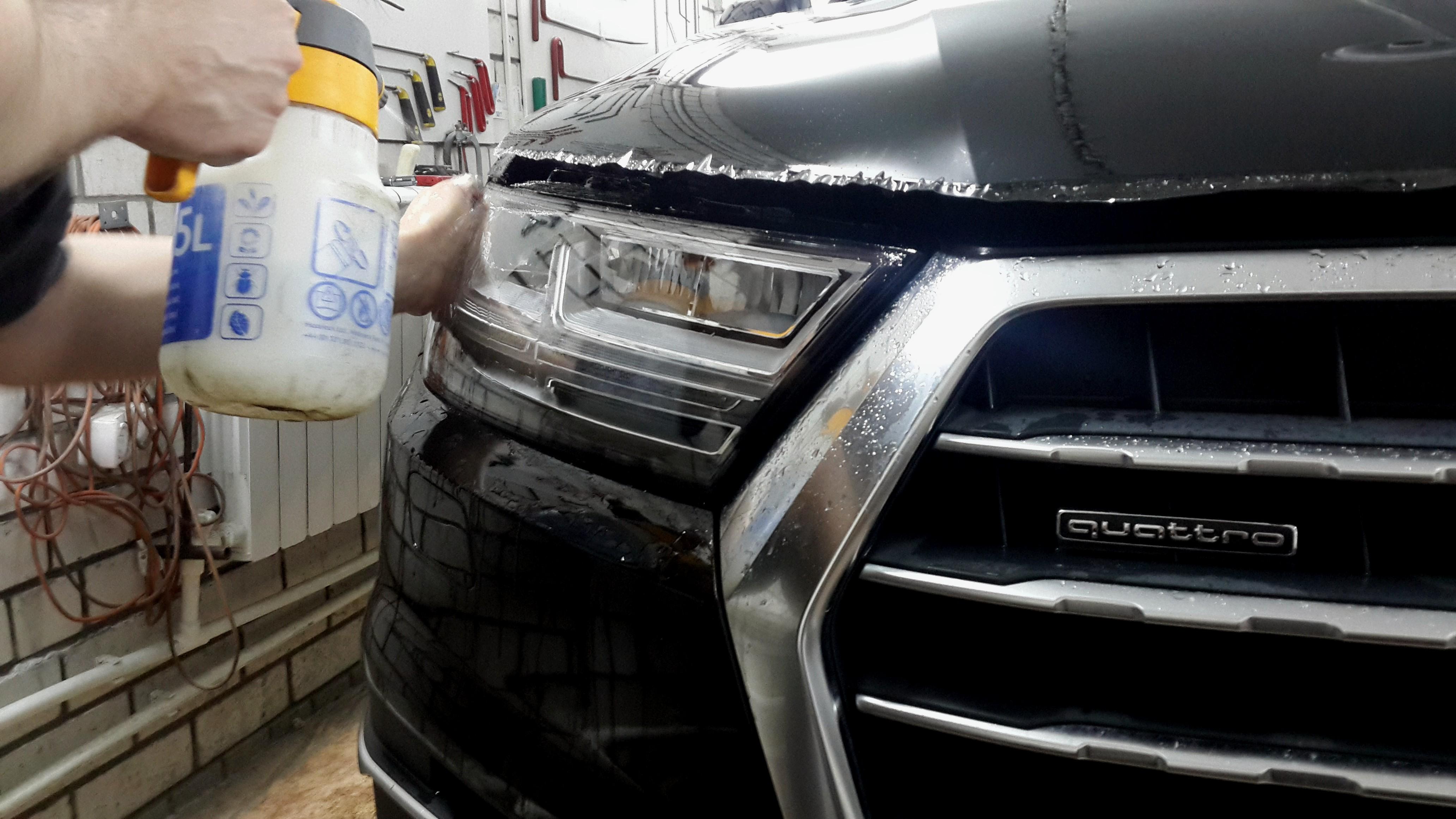 Процесс ламинции кузова