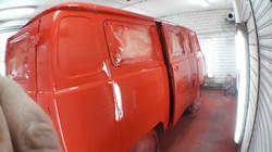 УАЗ 452 процесс покраски