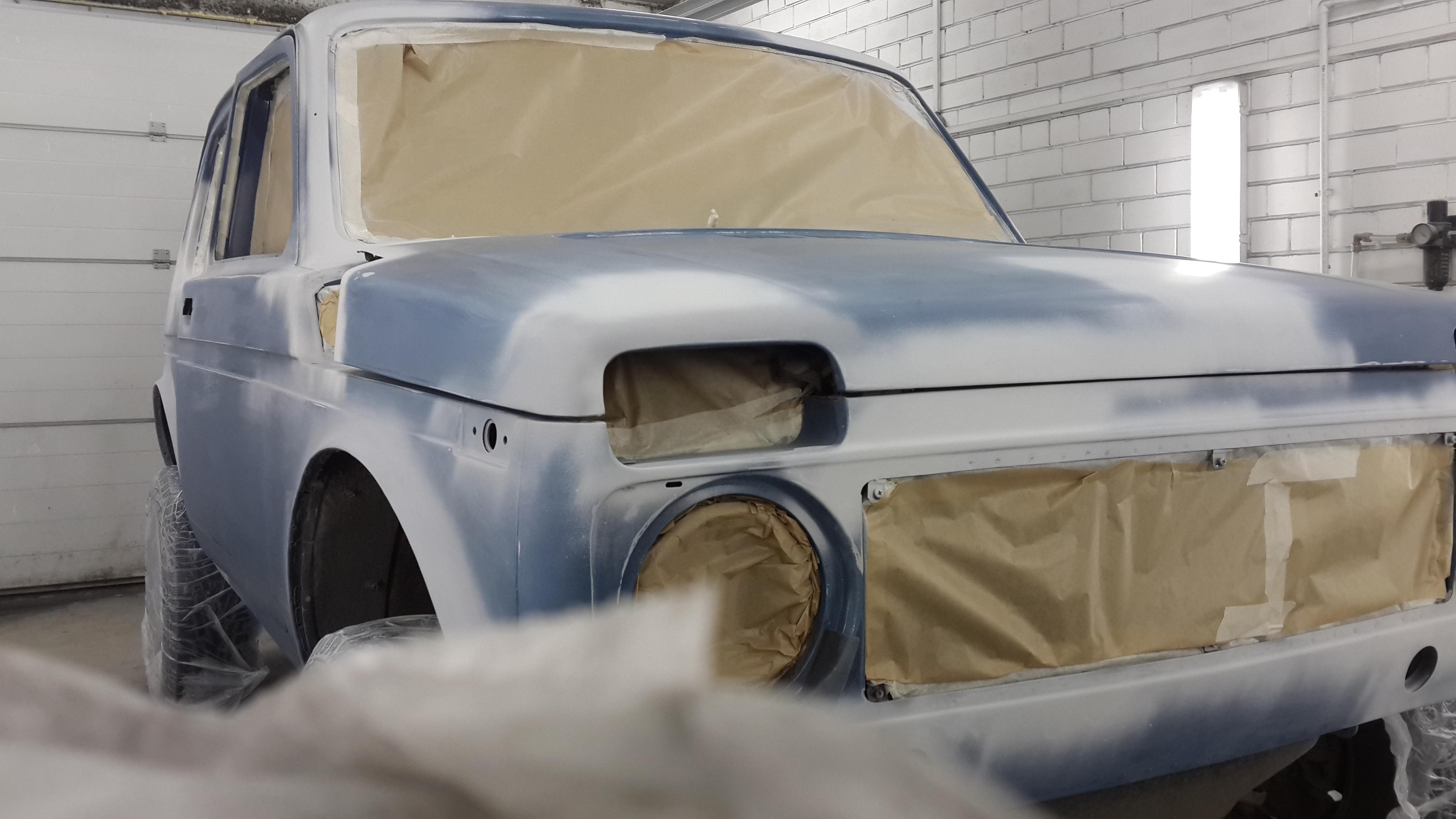 Подготовка кузова ВАЗ - Нива