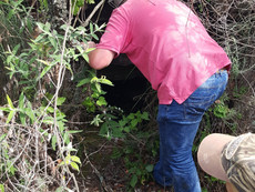 Exploring the mine shafts