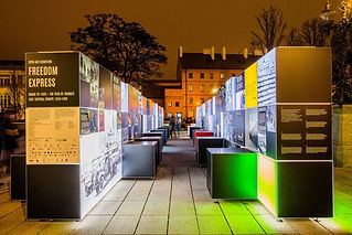 European Network of Remembrance and Solidarity Piroska Nagy photography Freedom Express Project - Roads to 1989 travelling exhibition