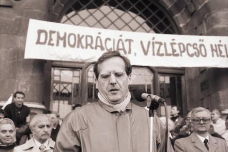 Sólyom László, a Magyar Köztársaság későbbi elnöke (2005-2010)