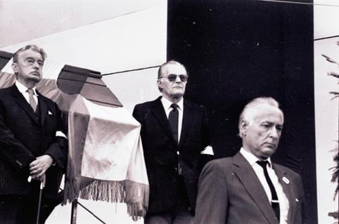 Balról jobbra: Mensáros László, Darvas Iván, Lipták Bela