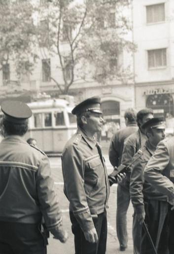 Gellért tér, Dr. Balogh János rendész százados