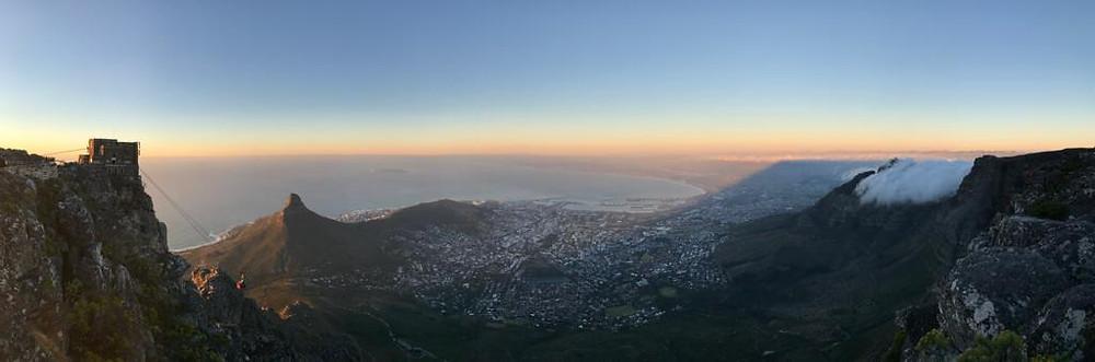 Cape Town 365 Ubuntu Climbs final climb
