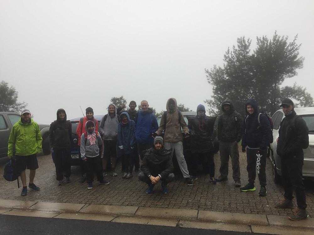 VML Foundation Day climb on day 270