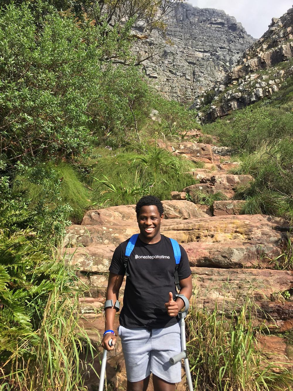 Lifa Rock climb 145 365 Ubuntu Climbs