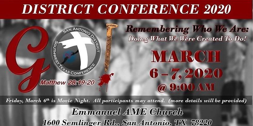 San Antonio District Conference