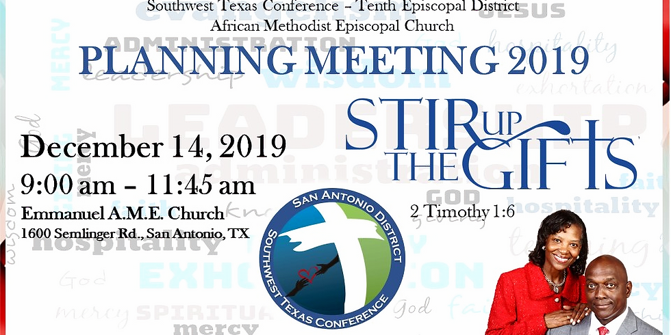 SWTX 10th District Planning Meeting