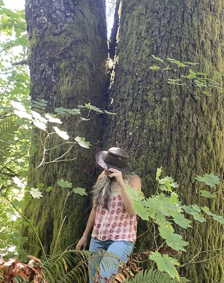 Cathy in the trees pic 1.jpg
