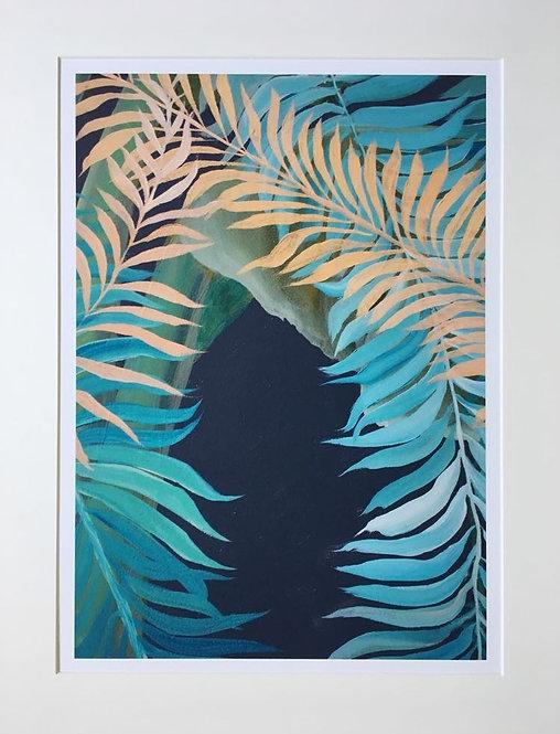 Tropics in London 2 Giclee print