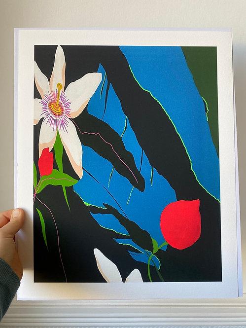 Whisper botanical Giclee print