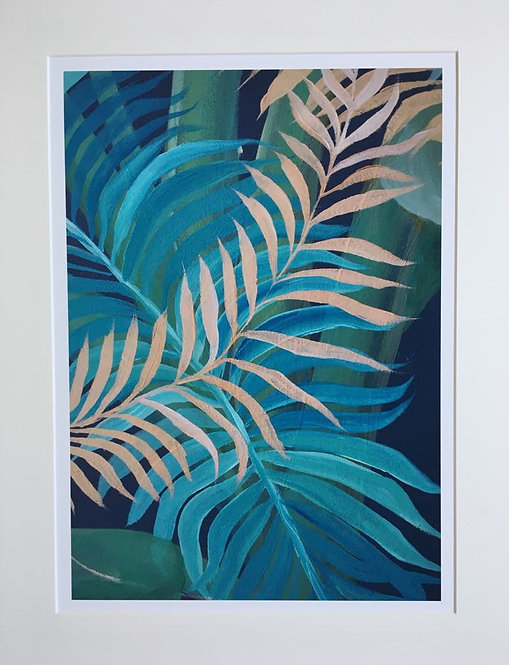 Tropics in London 3 A3 Giclee print