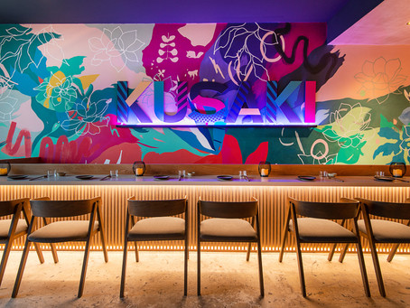 Why investing in a mural for your restaurant, like ours for Kusaki Brighton, is very worthwhile