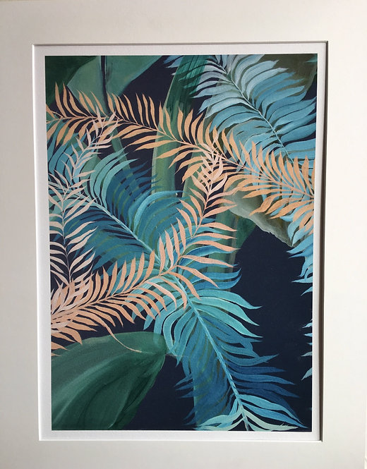 """Tropics in London 1"" Giclee print in A4"