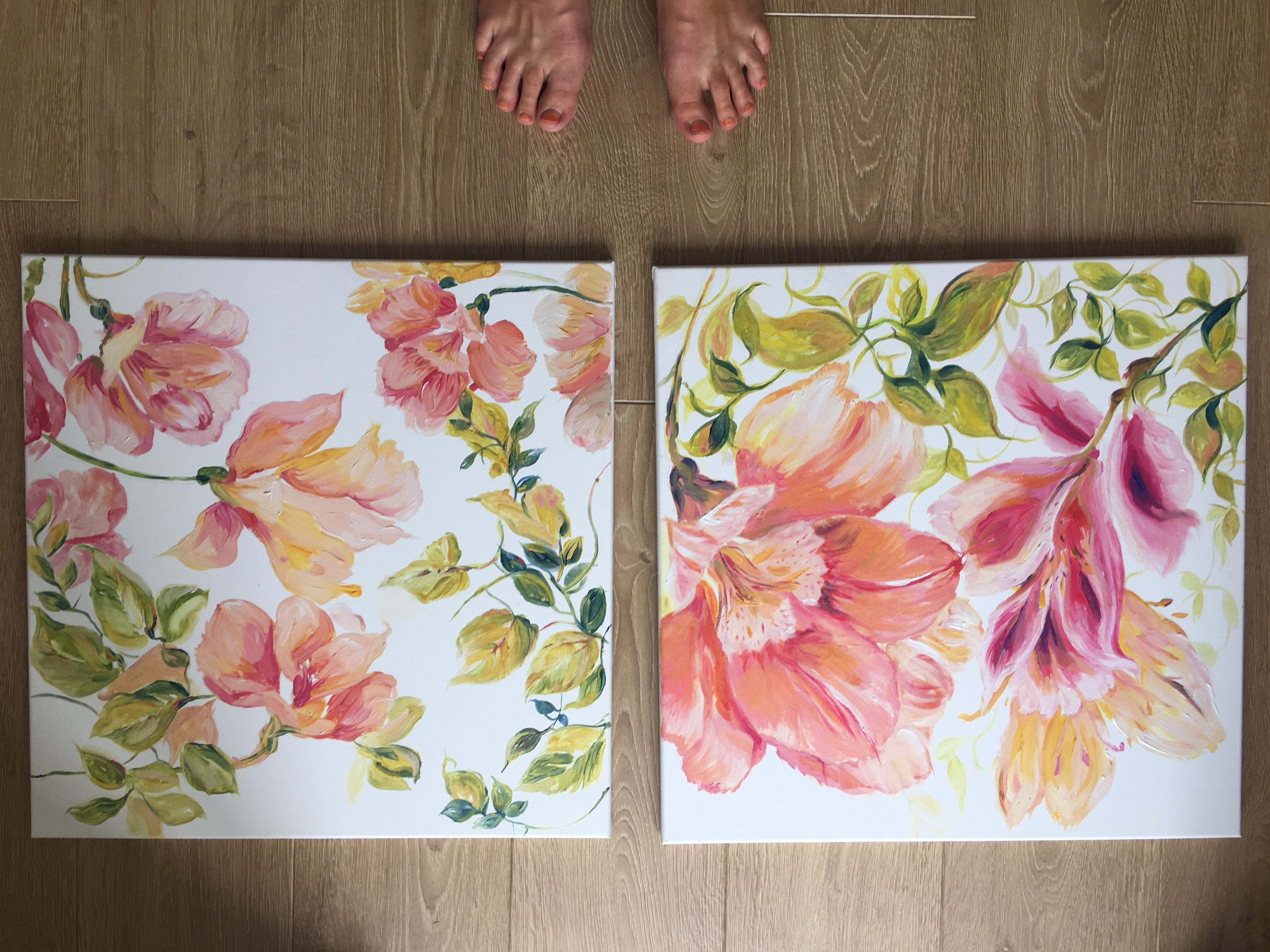 Mixed twin floral