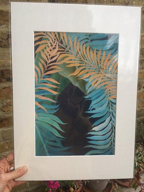 """Tropics in London 2"" Giclee print in A3"