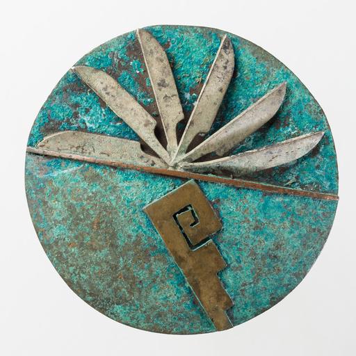 David Pimentel, Rosette, 1989. Copper, bronze. 10th Anniversary Gates Rosette Collection, 2014.2.354.
