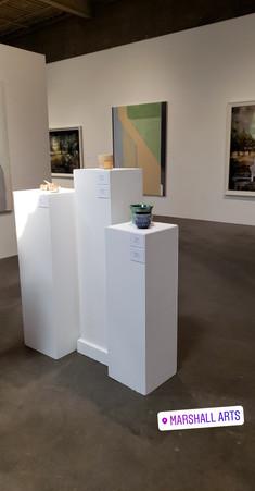 A gallery inside Marshal Arts.