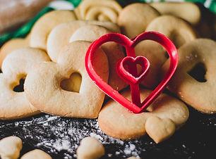 heart cutout cookie cutter