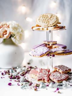 Wedding Mr & Mrs cookie