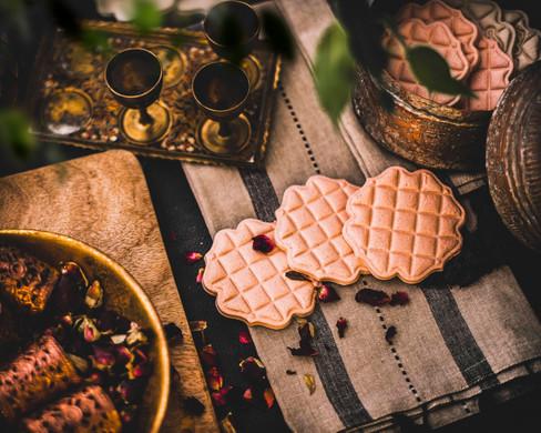 Moorish quilted cookie