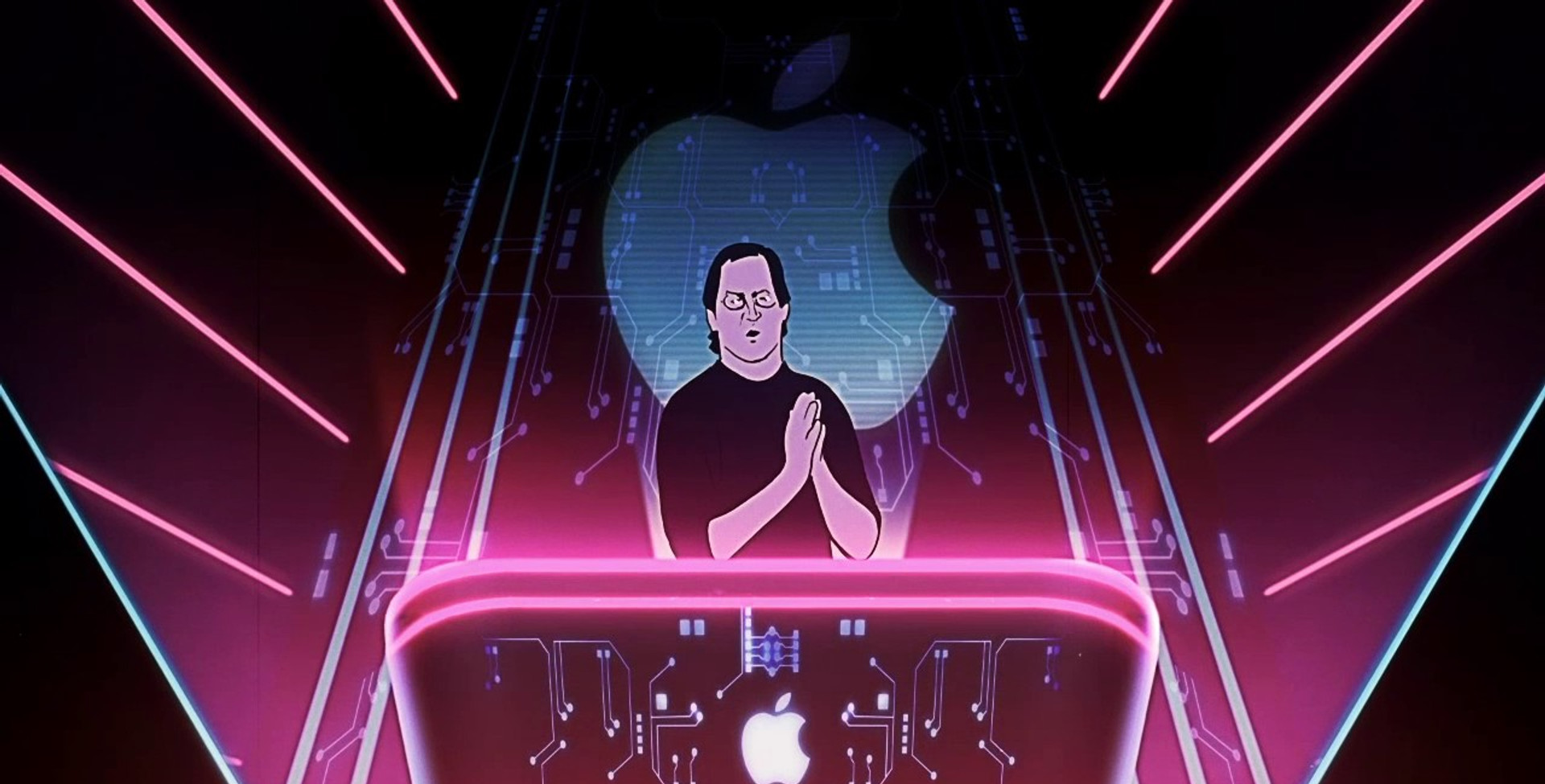 STEVE JOBS rotoscope