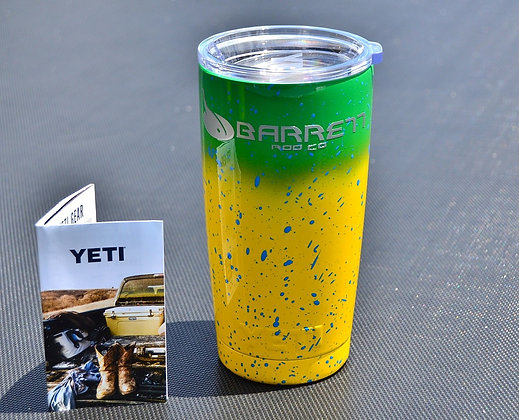 20oz mahi themed yeti