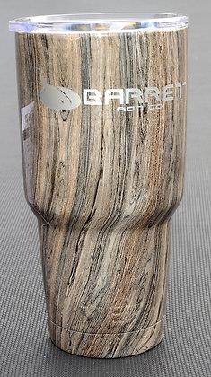 light wood grain  YETI rambler cup