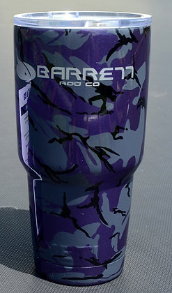 purple pearl camo YETI rambler cup