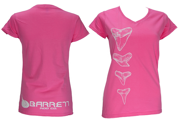 womens pink t shirt front tooth design