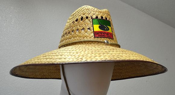 medium brim vented hat