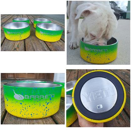 Yeti dog bowl