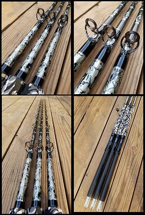 calstar grafighter grouper/snapper rods 40-100lb